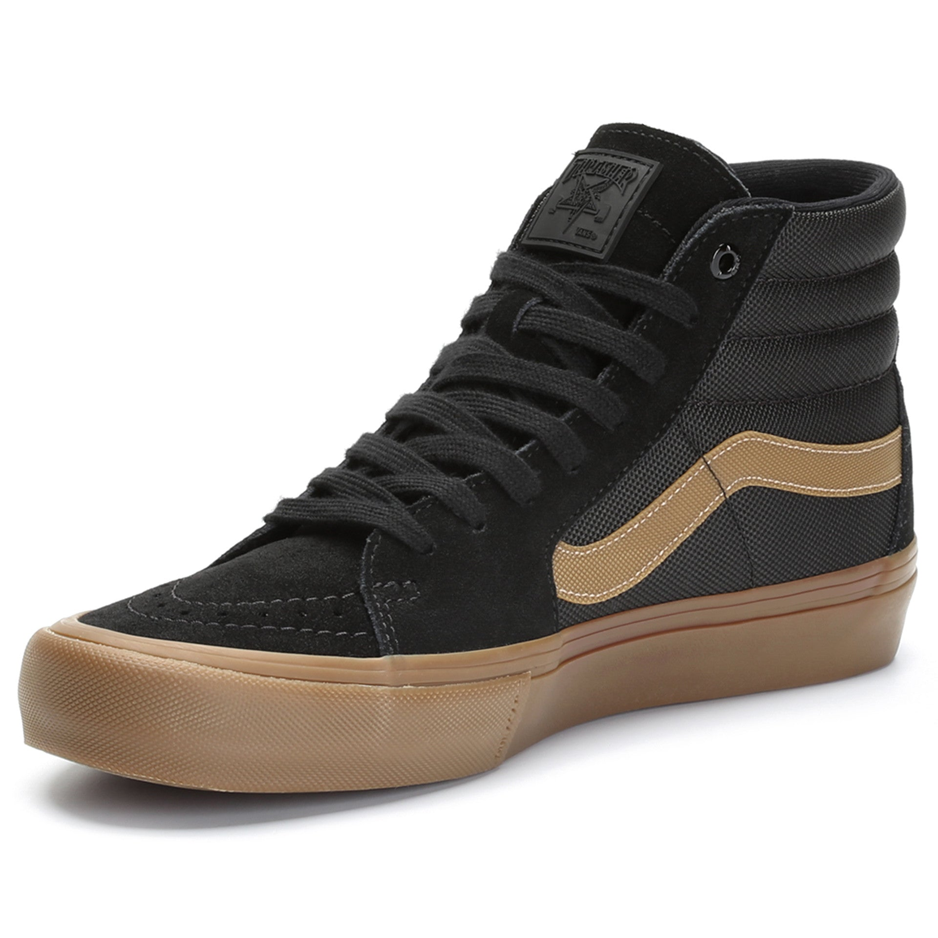Vans x Thrasher Sk8 Hi - Black Gum - New Star 6d4303bbe