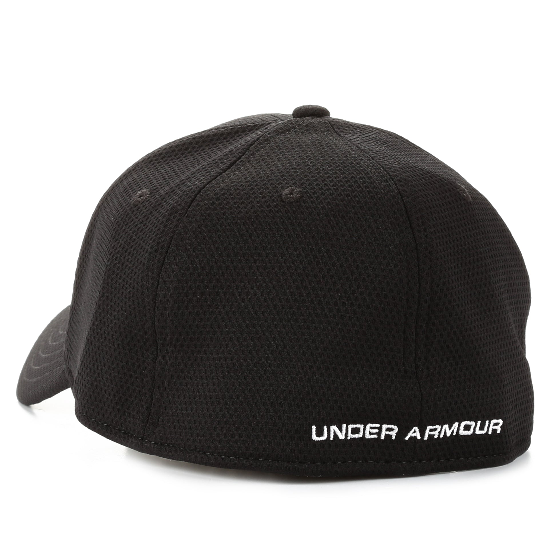 huge discount 38d14 8cf08 Under Armour Blitzing II Stretch Fit Hat - Black White