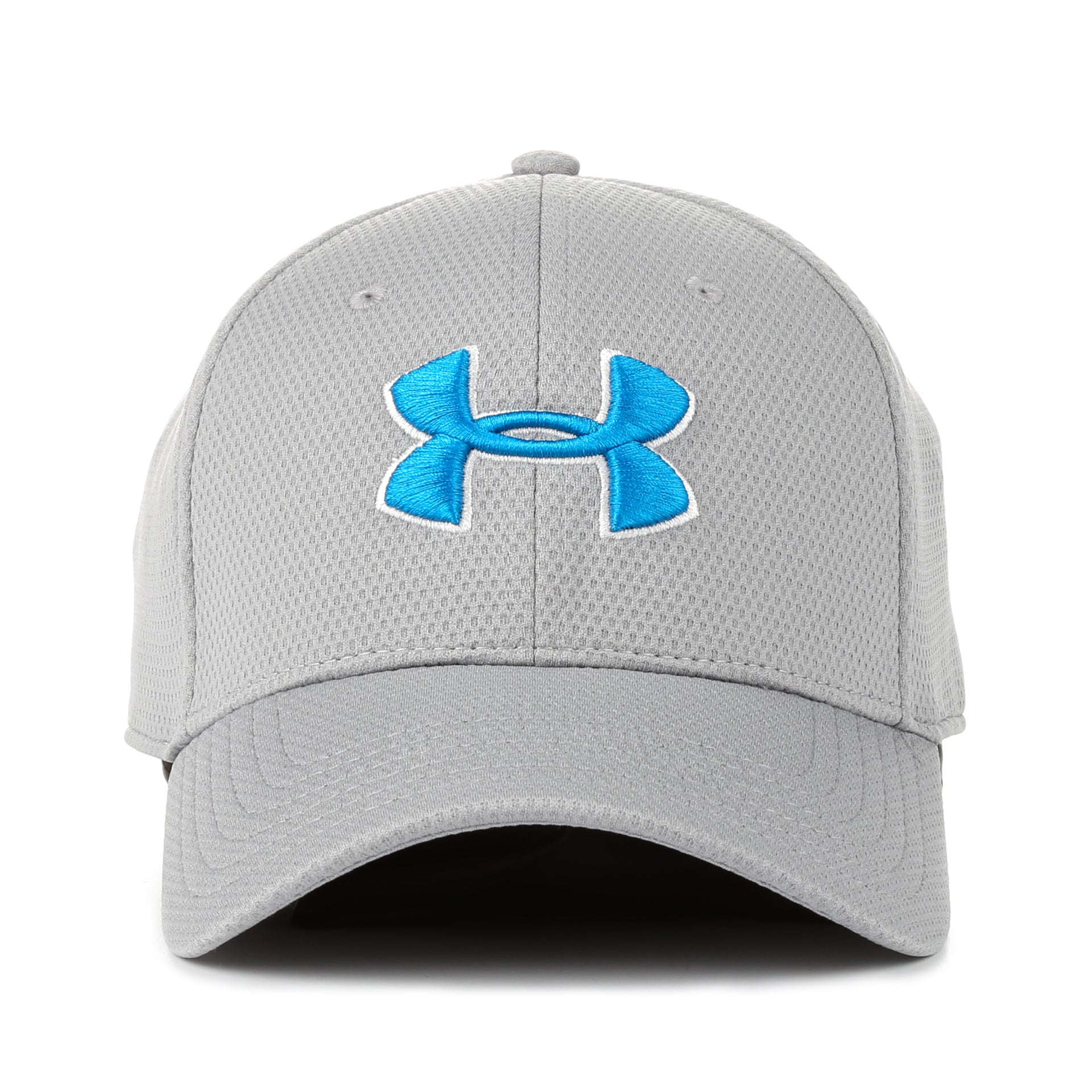 Under Armour Blitzing II Stretch Fit Hat - Glacier Gray - New Star 848117f6008