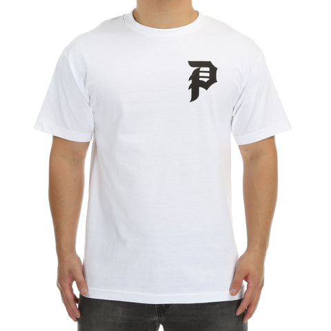Primitive Bloom Tee - White