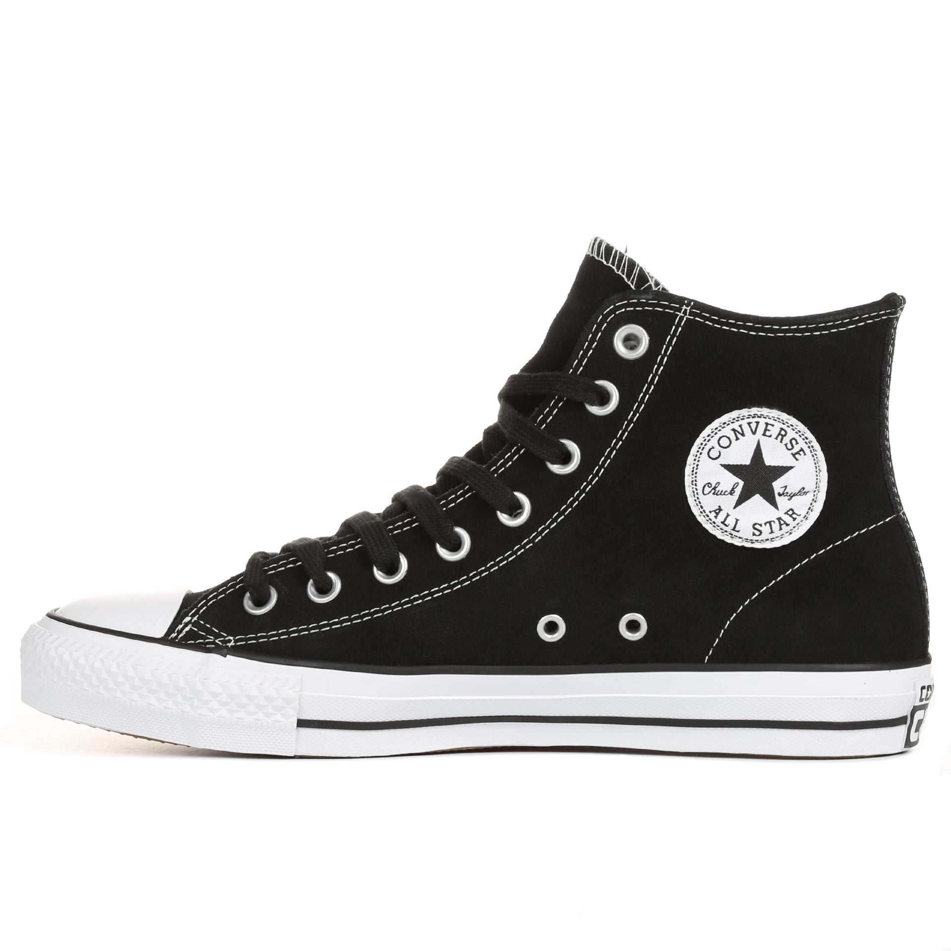 c1d4abb89a21 Converse Chuck Taylor All Star Pro Suede High Top - Black White ...