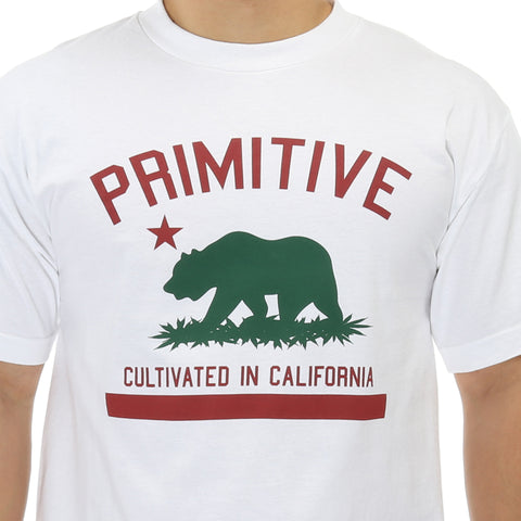 Primitive Cultivated Solid Tee - White
