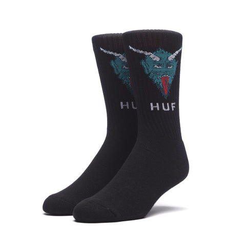 Huf December Dudes Series Socks - Black