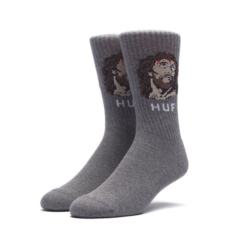 Huf December Dudes Series Socks - Charcoal