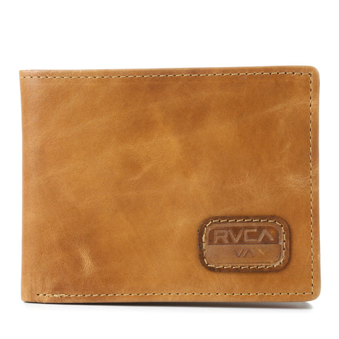 RVCA Dispatch Wallet - Light Brown