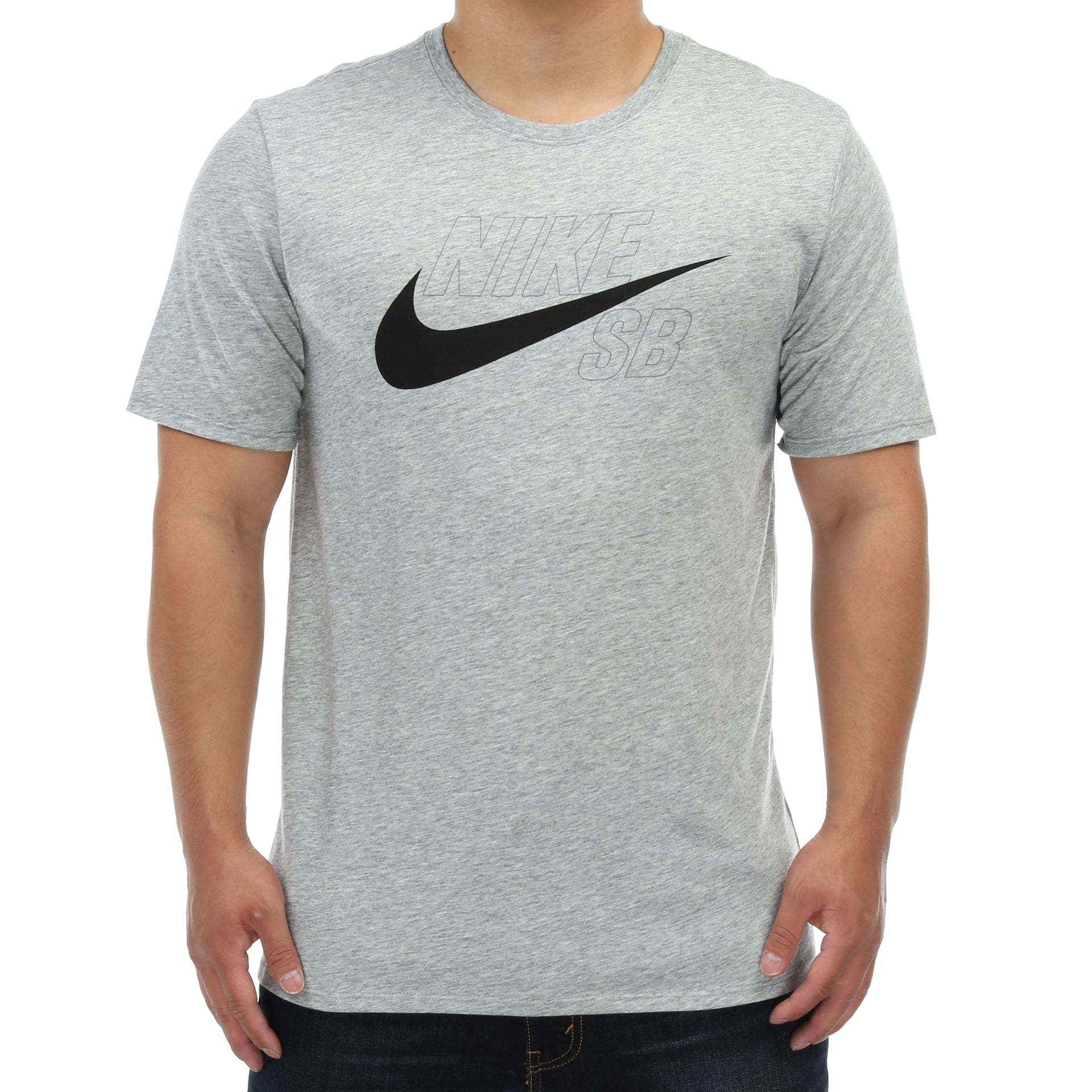 e796e1bd Nike SB Dry T-Shirt - Dark Grey Heather - New Star