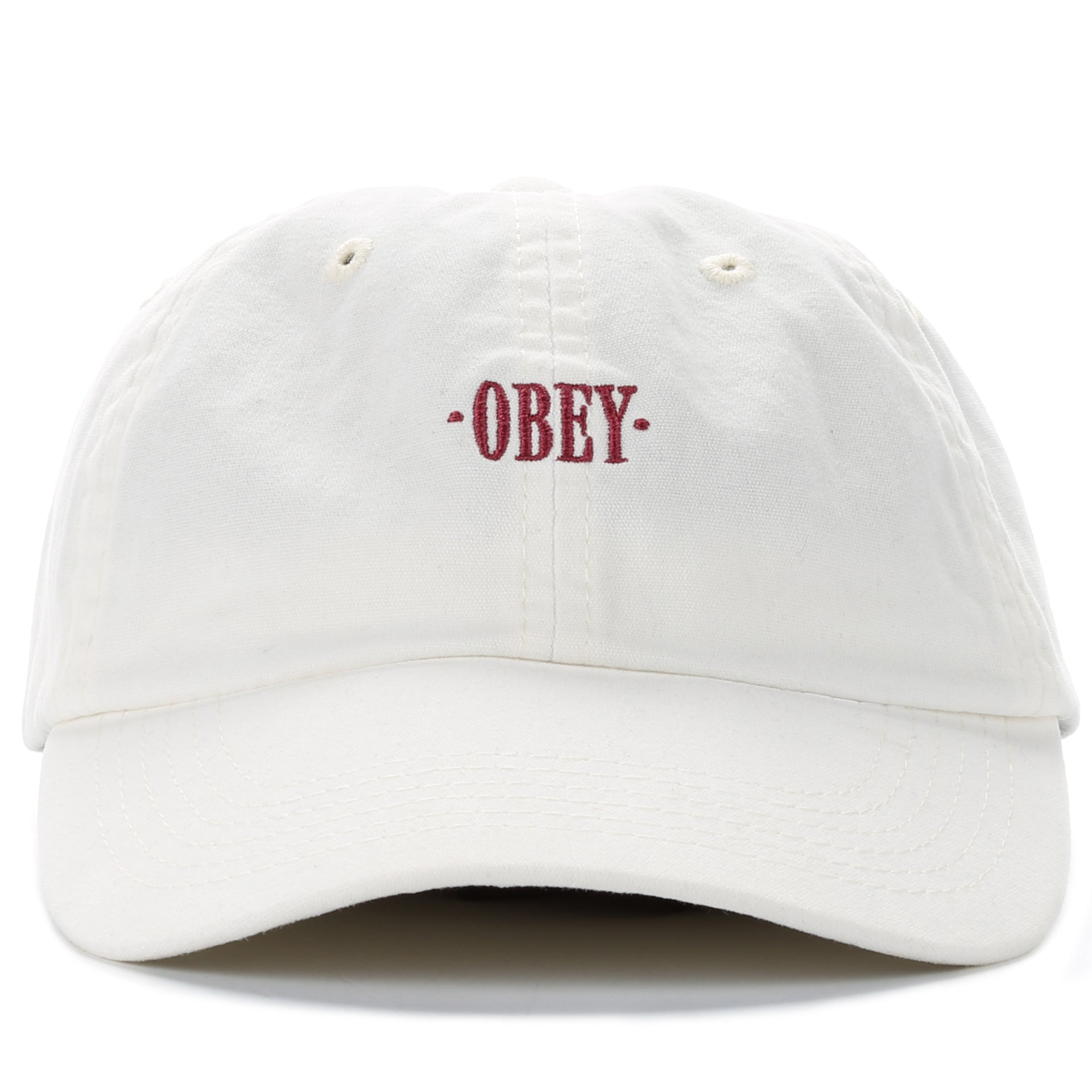5263cab5bd8 Obey Endless Hat - White - New Star