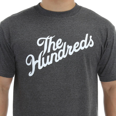 The Hundreds Forever Slant Tee - Charcoal Heather