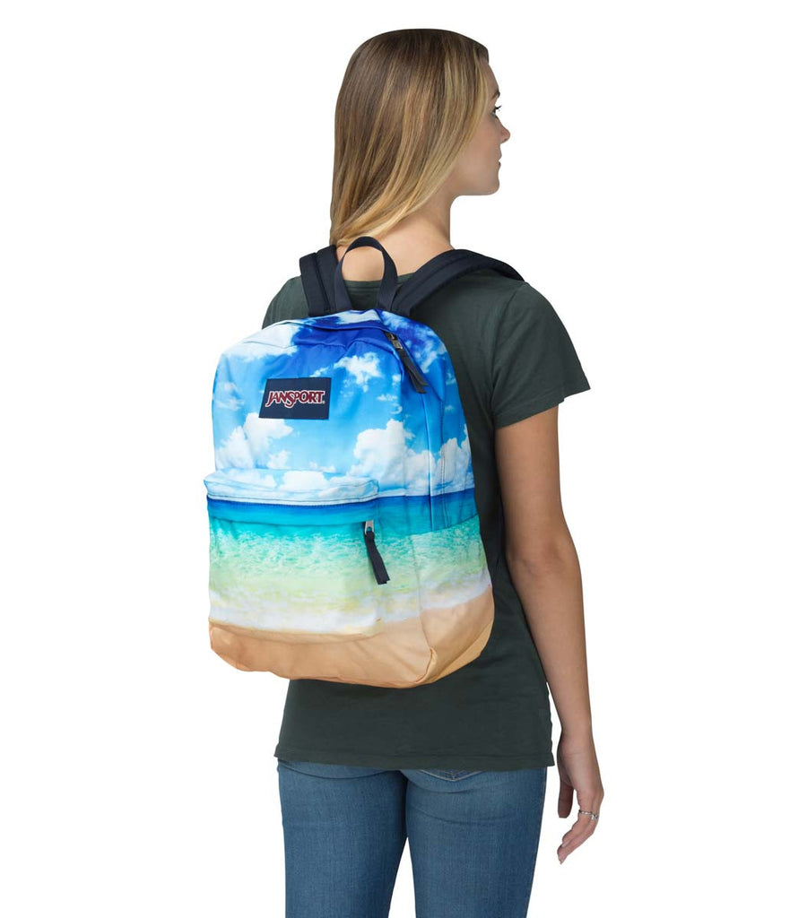 c56ace1a6fbb JANSPORT High Stakes Backpack - Multi Tropical Island - New Star
