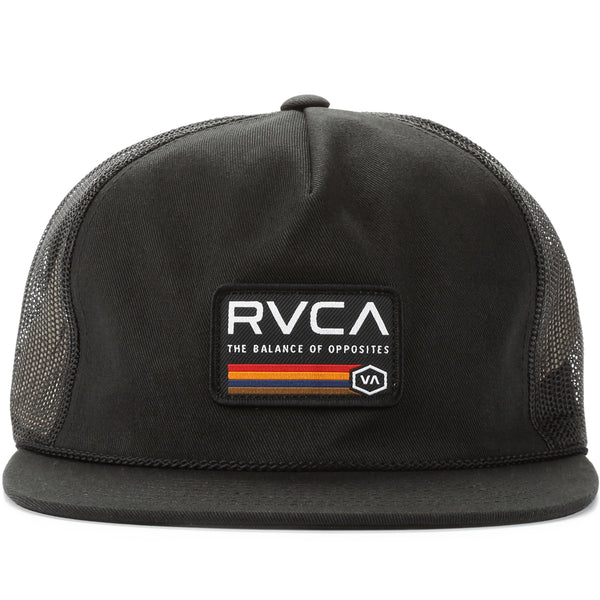 8dd40269d813de RVCA Mechanic II Trucker Hat - Black
