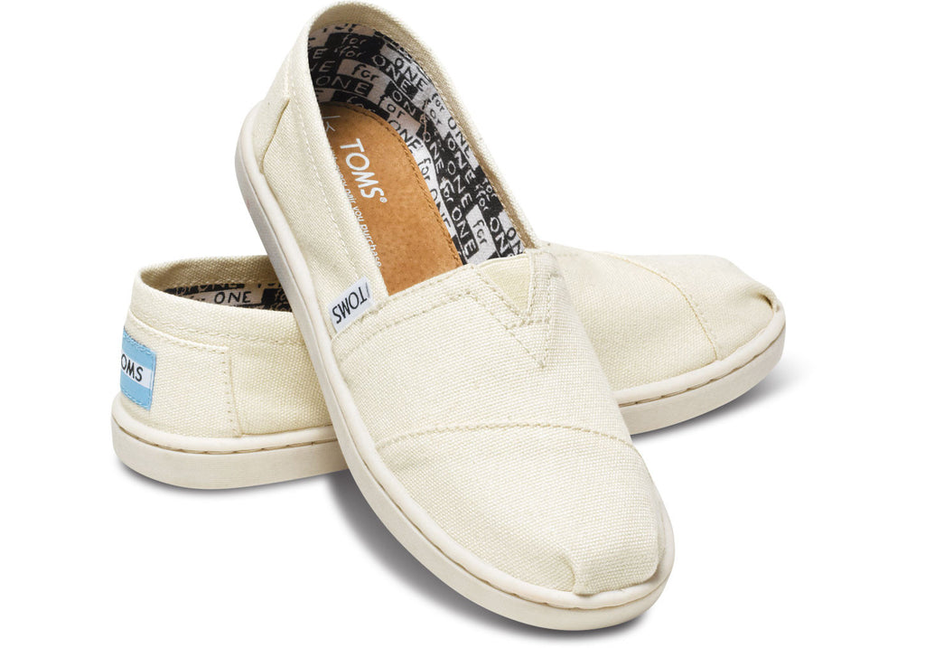 6ada8194db1 TOMS CLASSIC CANVAS YOUTH NATURAL · TOMS CLASSIC CANVAS YOUTH NATURAL