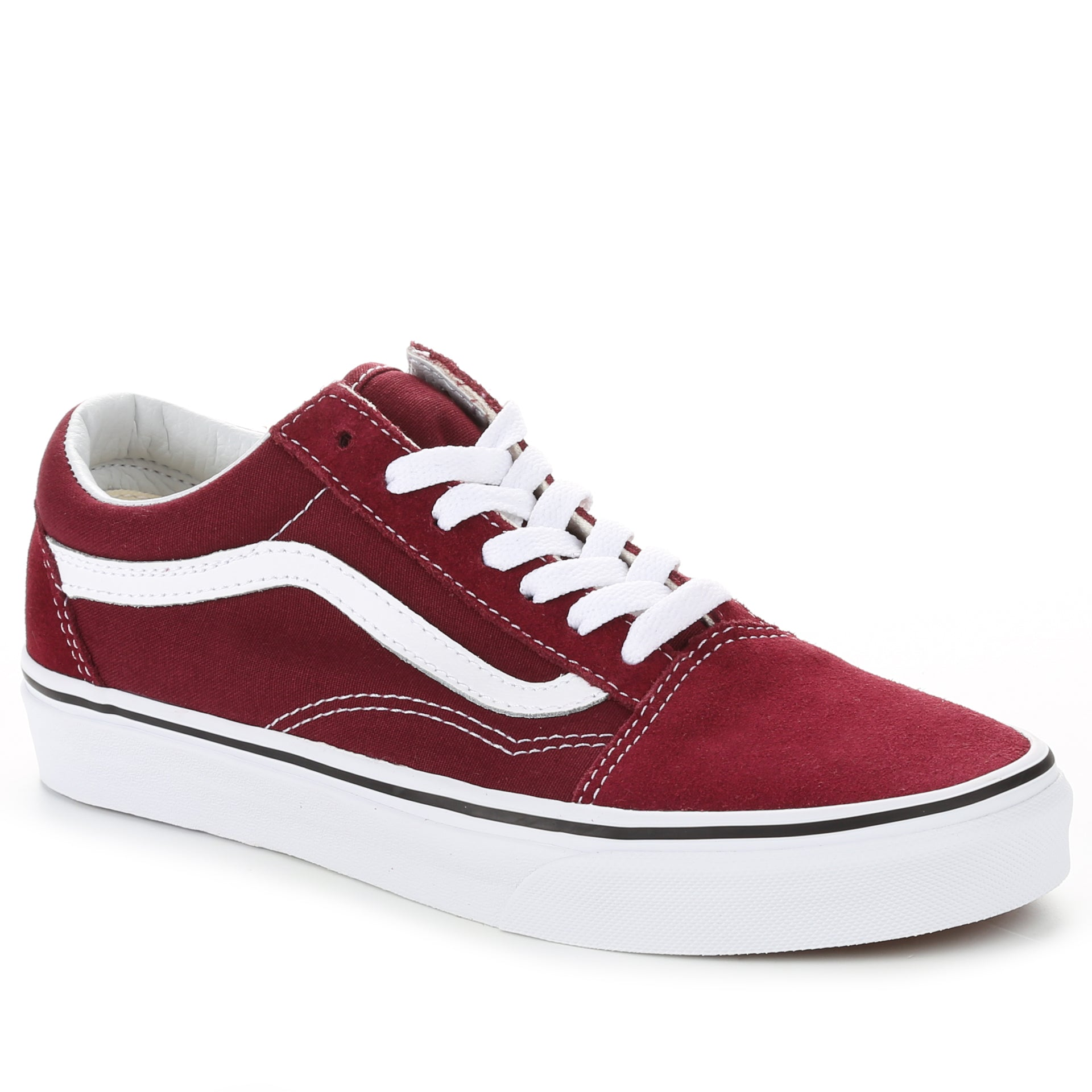 3cf26c37c1487a Vans Old Skool - Burgundy True White - New Star