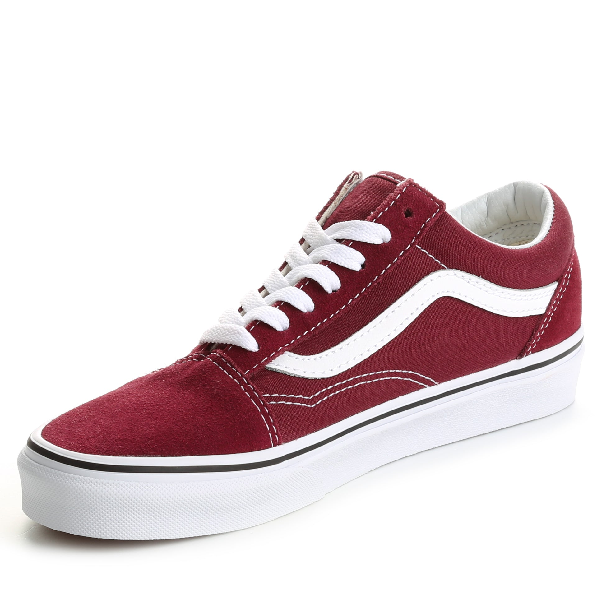 Vans Old Skool - Burgundy True White - New Star 7d341b565