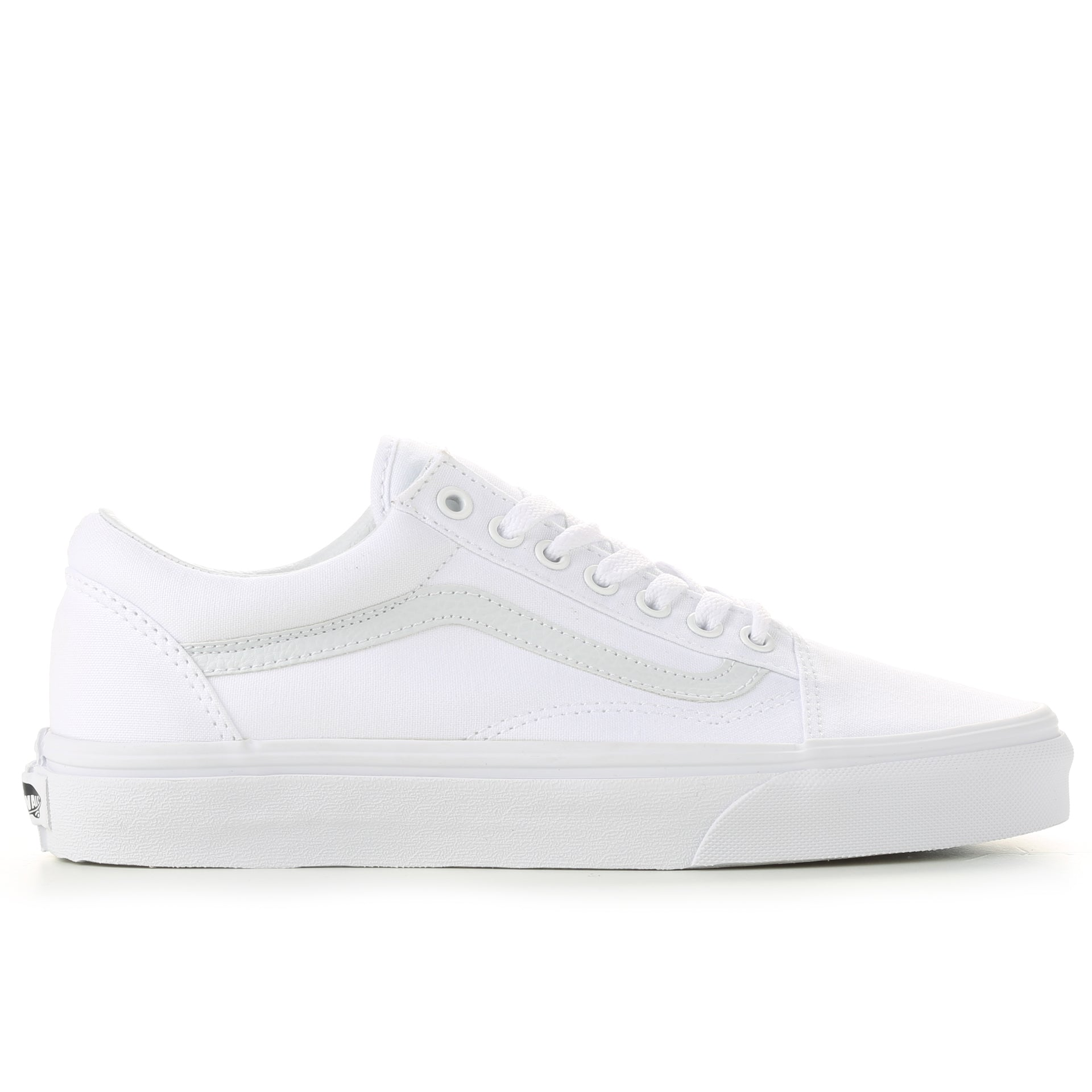 1344d89efe Vans Canvas Old Skool - True White - New Star