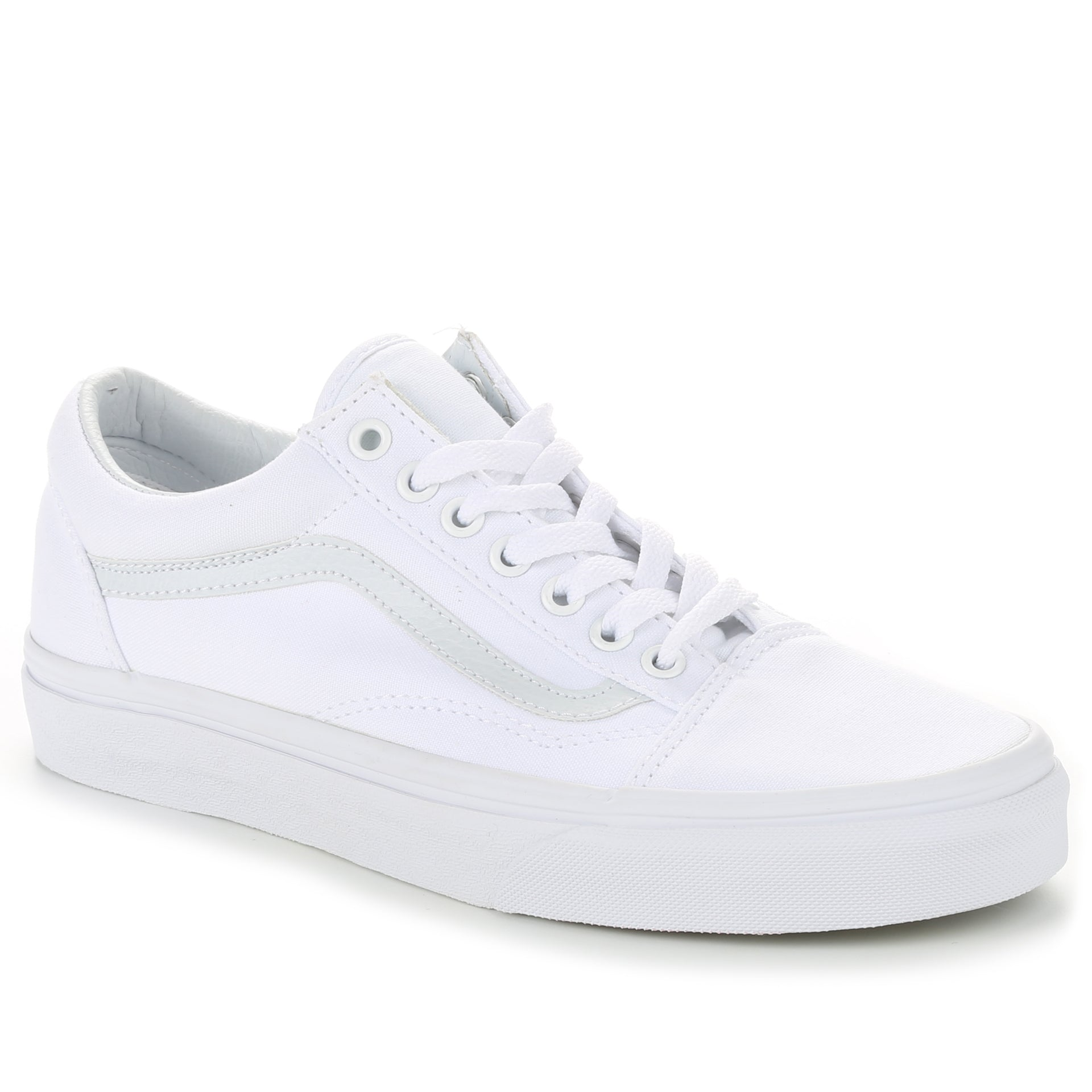 Vans Canvas Old Skool True White New Star