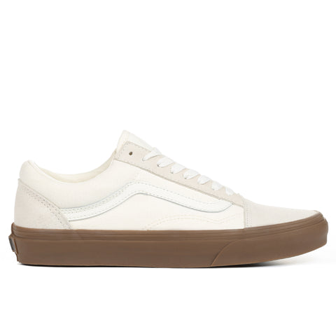 Vans Old Skool - White/Gum