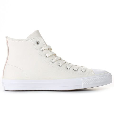 Converse CTAS Pro Suede Backed Twill High Top - Egret/Dusk Pink