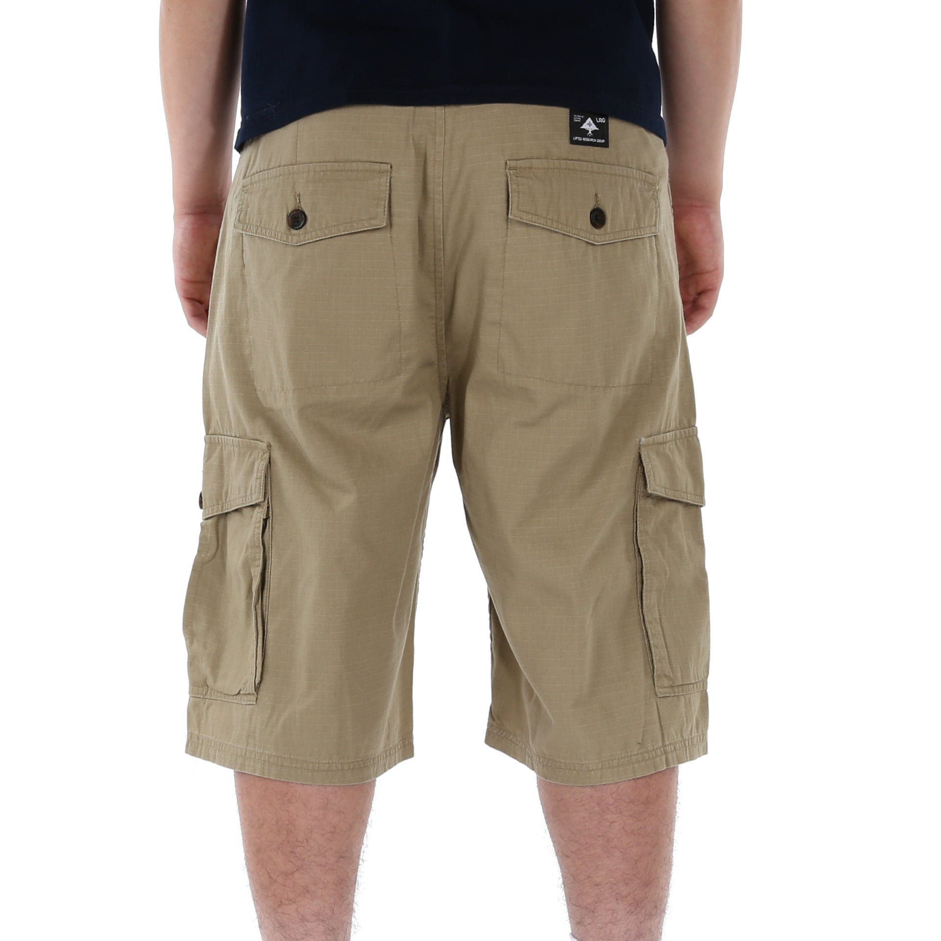 09d777b2814d2 LRG Ripstop Mens Cargo Shorts - Khaki - New Star