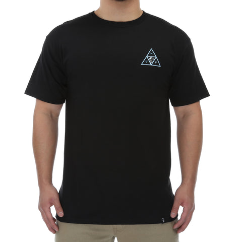 Huf Rosa Calvaria Triple Triangle Tee - Black