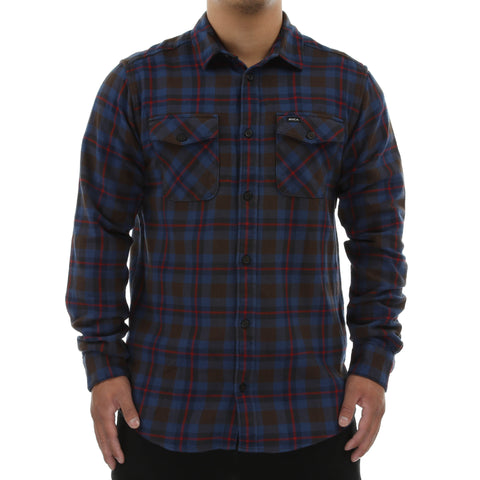 RVCA That'll Work Flannel - Chocolate