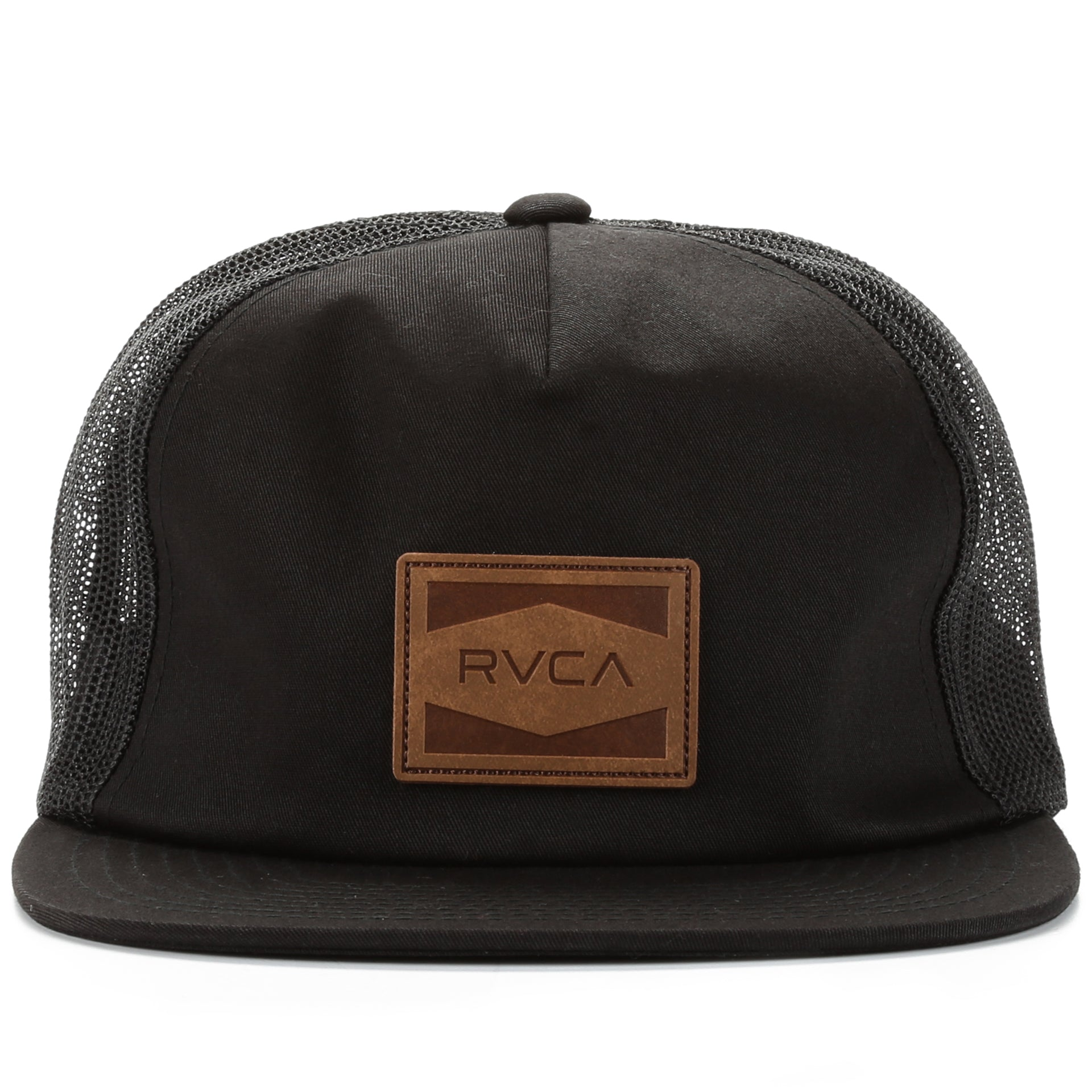 eac5e7c4b1 RVCA Washburn Trucker Hat - Black - New Star