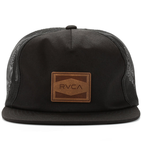 d6a6994ed4b7d5 RVCA Washburn Trucker Hat - Black