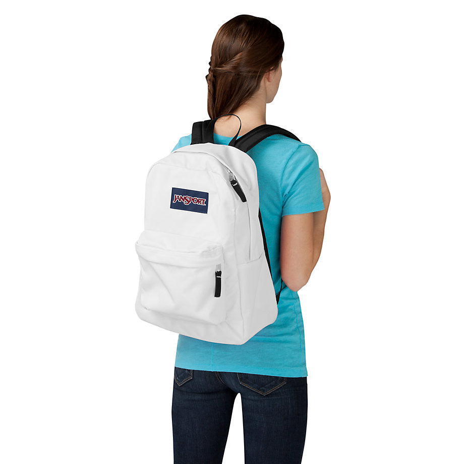 info for casual shoes factory outlet JANSPORT Superbreak Backpack - White