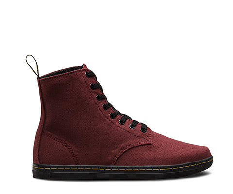 Dr Martens Alfie Boot - Cherry Red Canvas