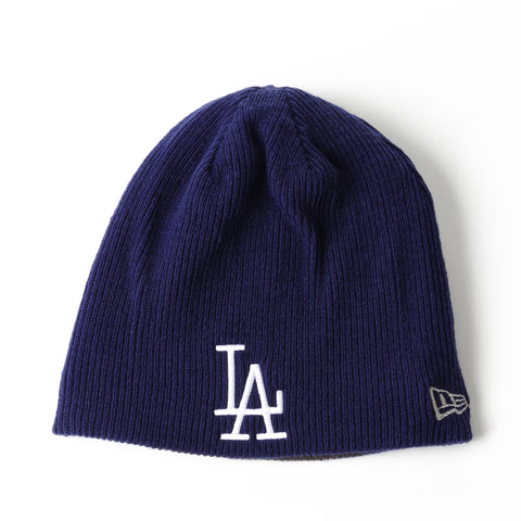 New Era Basic Team Beanie - Los Angeles Dodgers/Charcoal/Blue