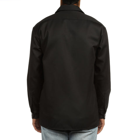 Dickies Mens L/S Work Shirt - Black