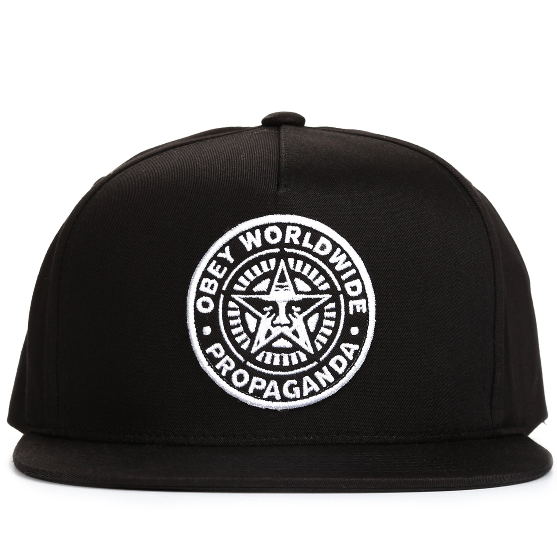00f2152819bfb Obey Classic Patch Snapback - Black - New Star