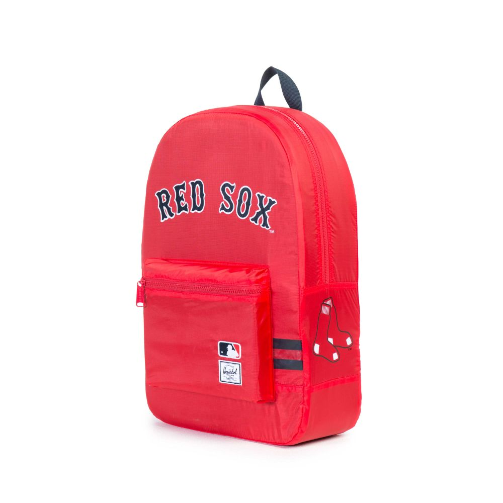2db7fa8064d Herschel x MLB Boston Red Sox Packable Daypack - Red. Herschel Supply Co