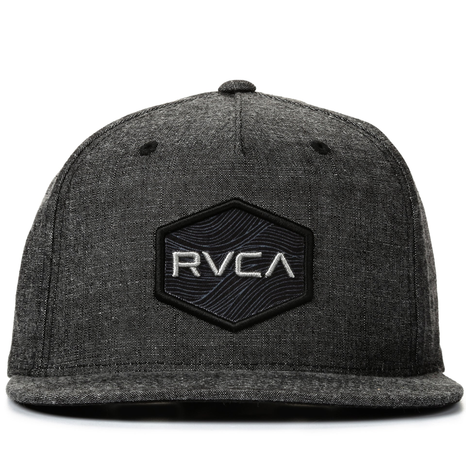 the best attitude bc7e3 c7679 RVCA Commonwealth Snapback - Charcoal