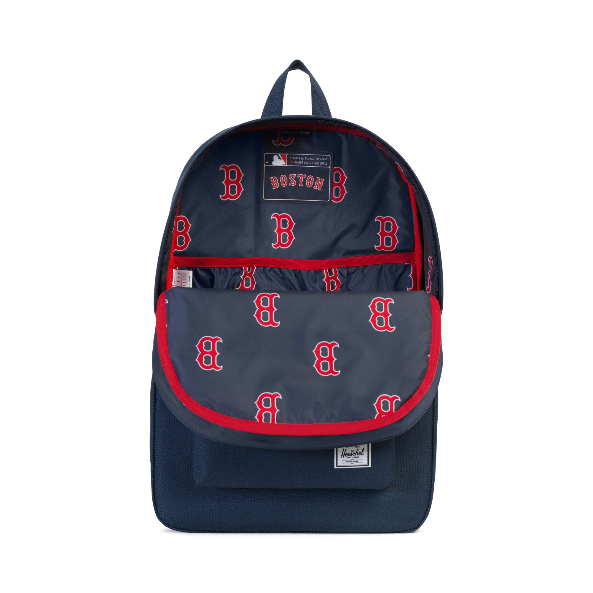 Herschel x MLB Boston Red Sox Heritage Backpack - Navy. Herschel Supply Co d40095ca3d33d