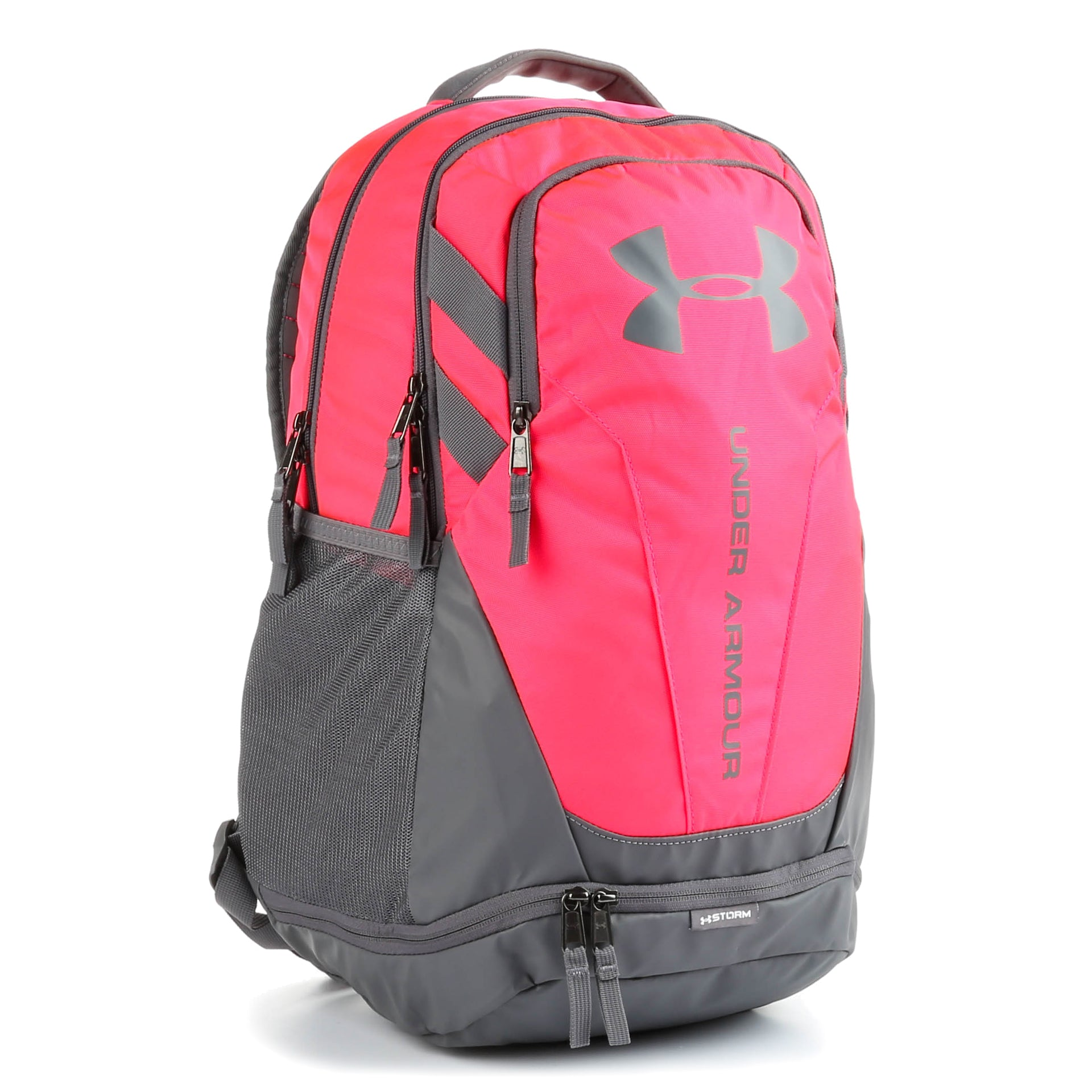 free shipping 433d5 f450b Under Armour Hustle 3.0 Backpack - Penta Pink   Graphite