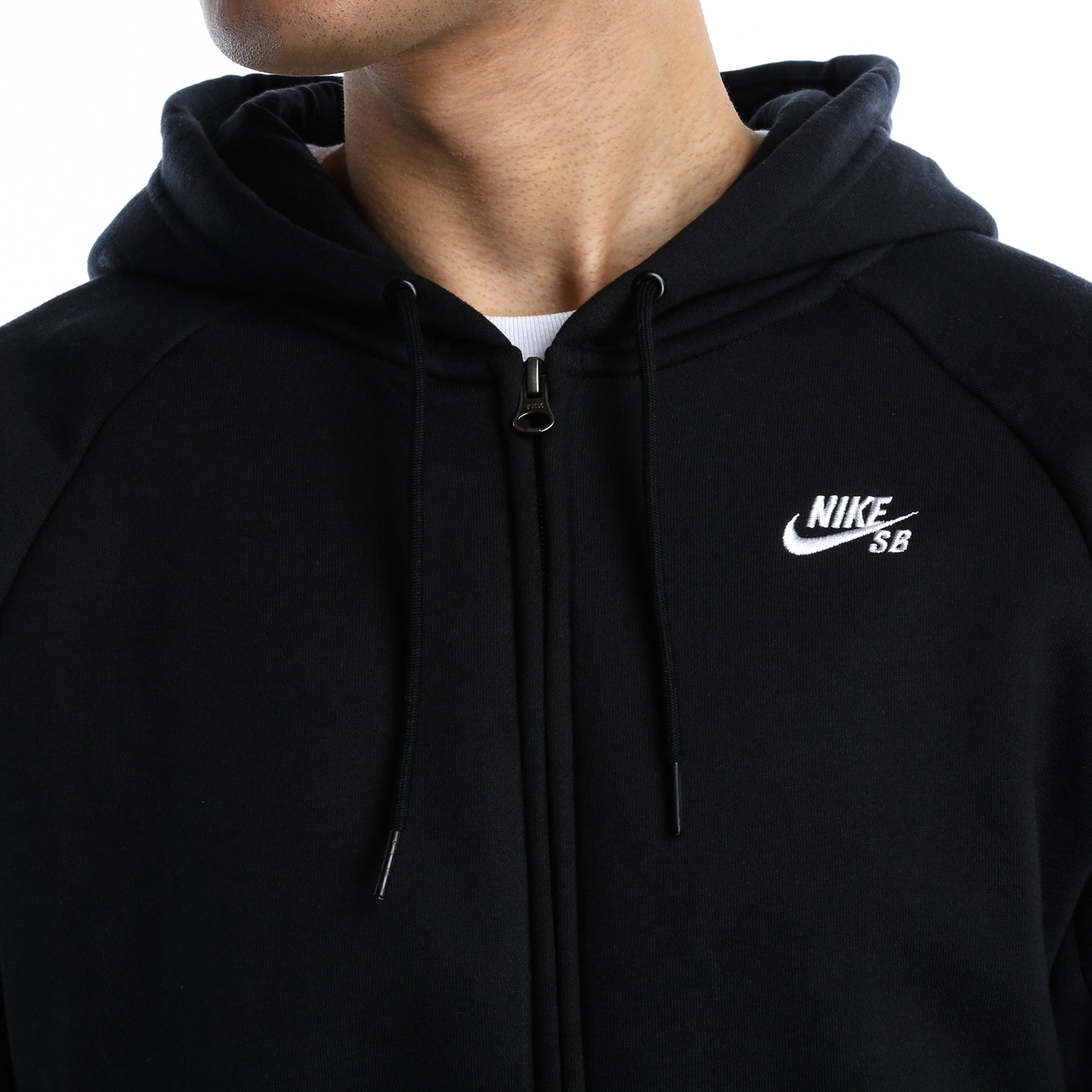 77adb262352e Nike SB Icon Full-Zip Hoodie - Black - New Star
