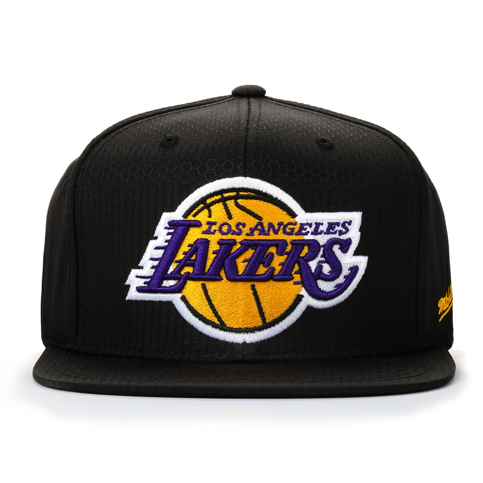 Mitchell and Ness Los Angeles Lakers Snapback - Black - New Star 3674371e9b60