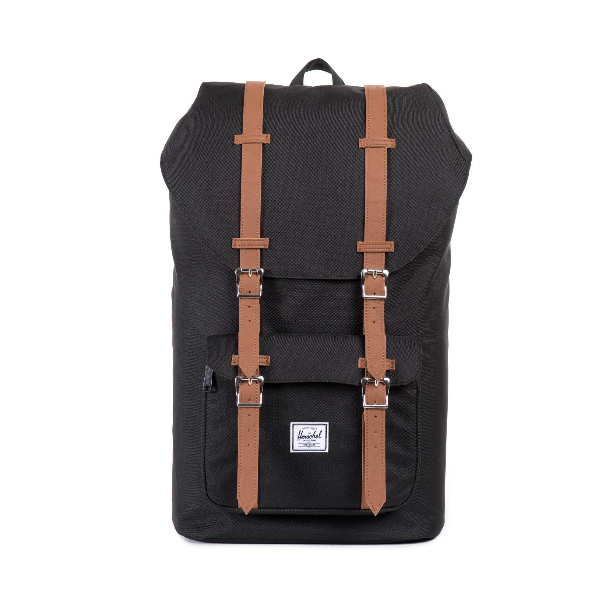 f501ee85166 Herschel Little America Backpack Black Tan- Fenix Toulouse Handball