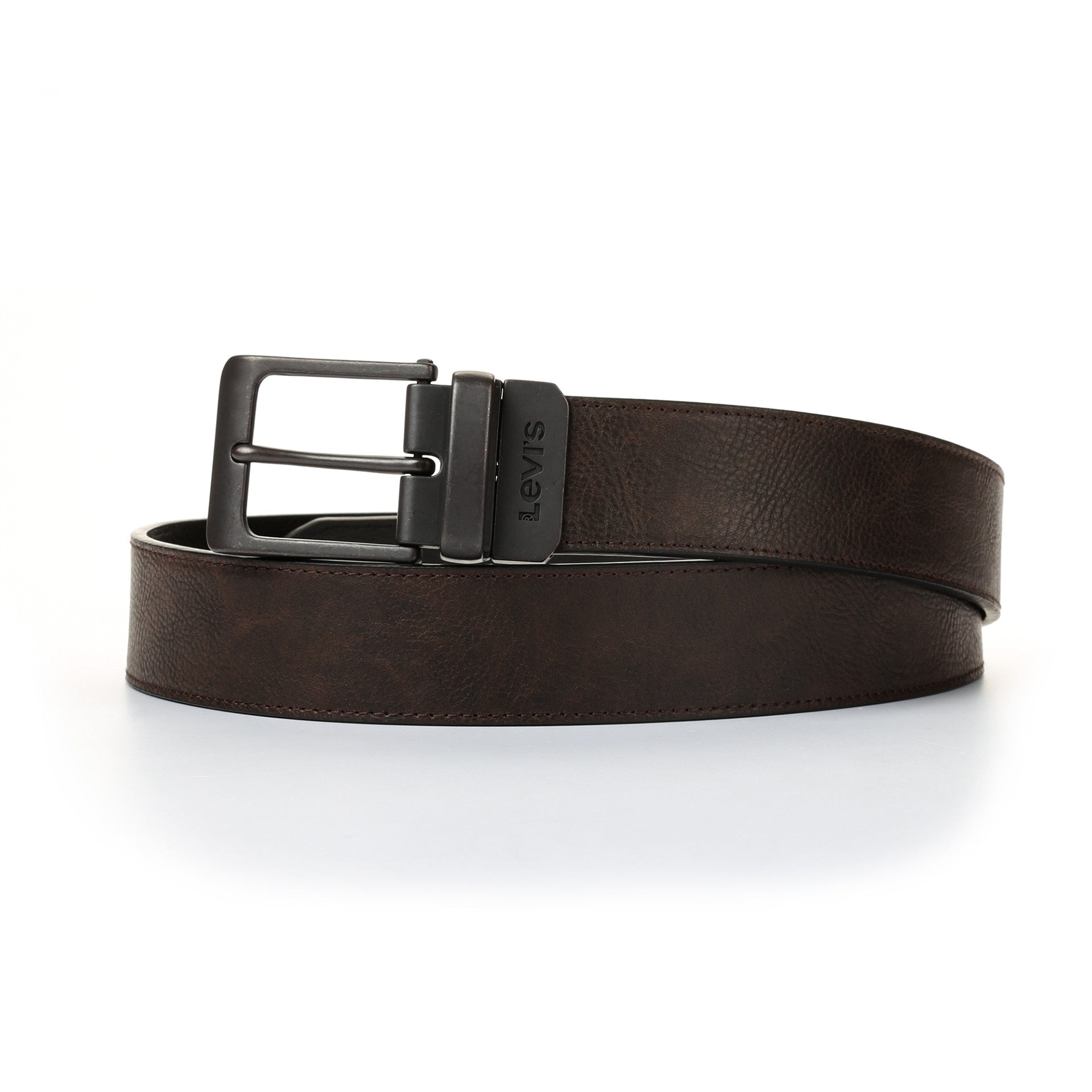 Brown BNWT Levi/'s NEW Men/'s Reversible Belt
