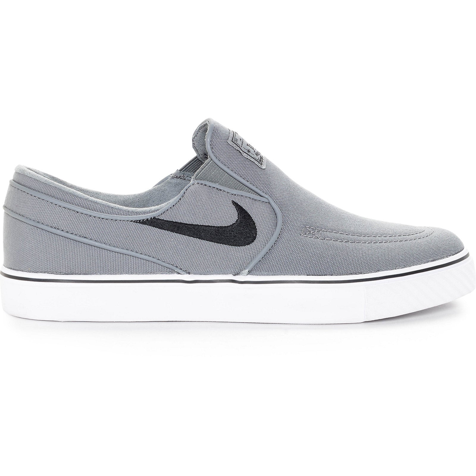 af1fcec707a Nike SB Janoski Slip-On - Cool Grey Black White - New Star