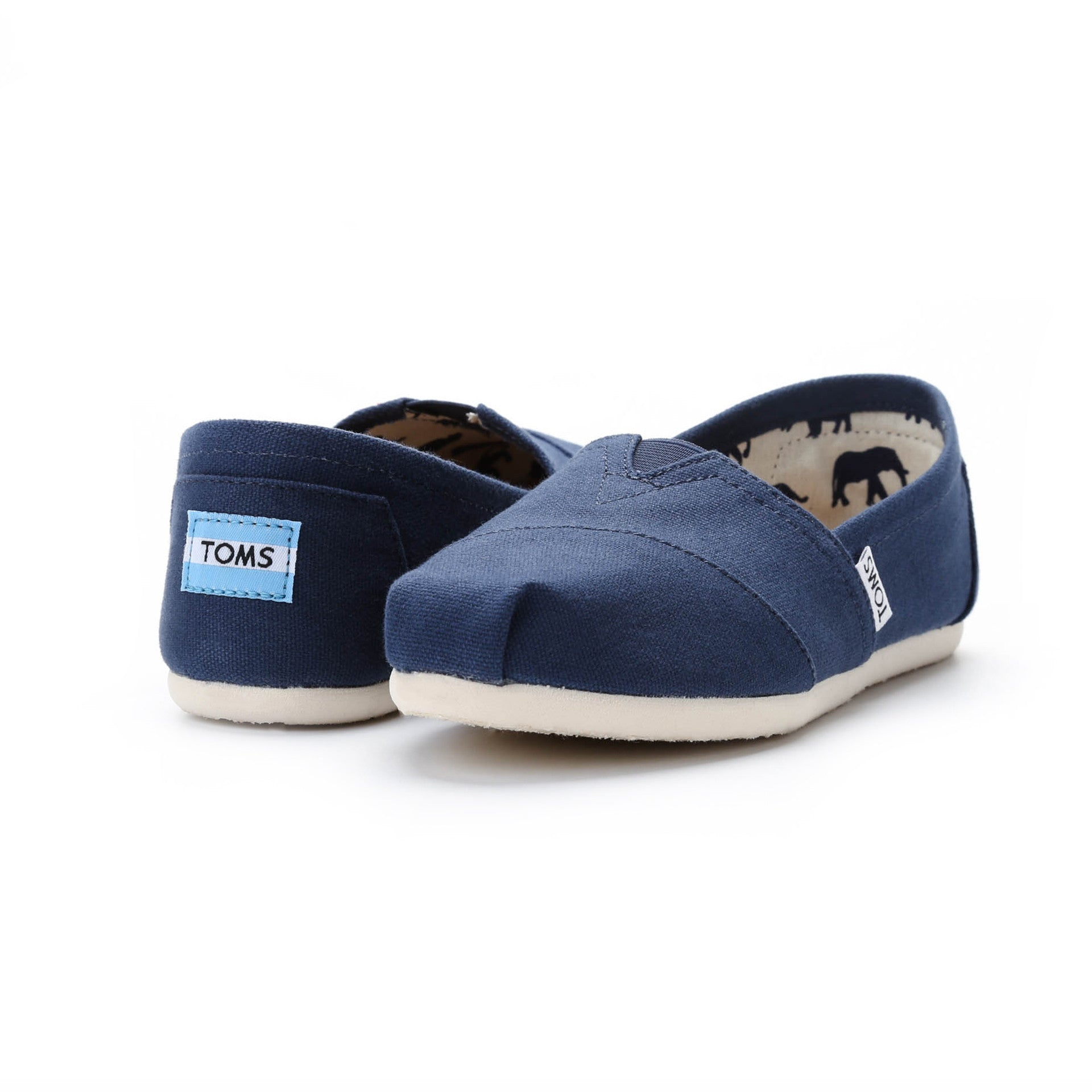 17dc407c01c Toms Classic Canvas - Navy - New Star