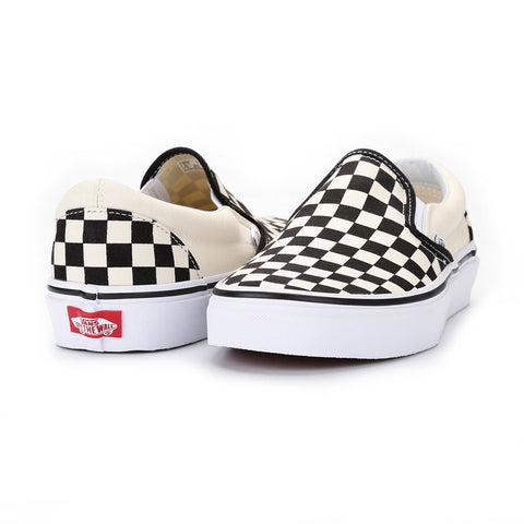 Vans Classic Slip-On - Blk & Wht Checkerboard