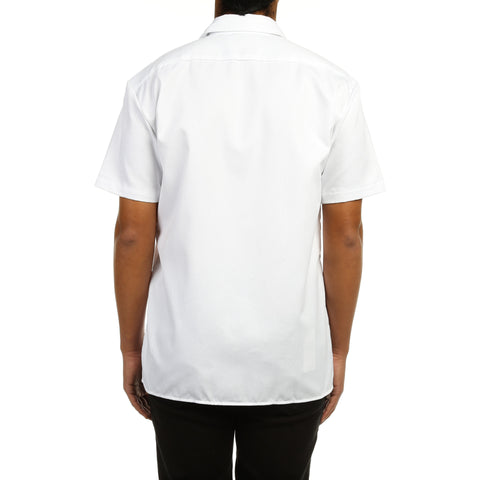 Dickies Mens S/S Work Shirt - White
