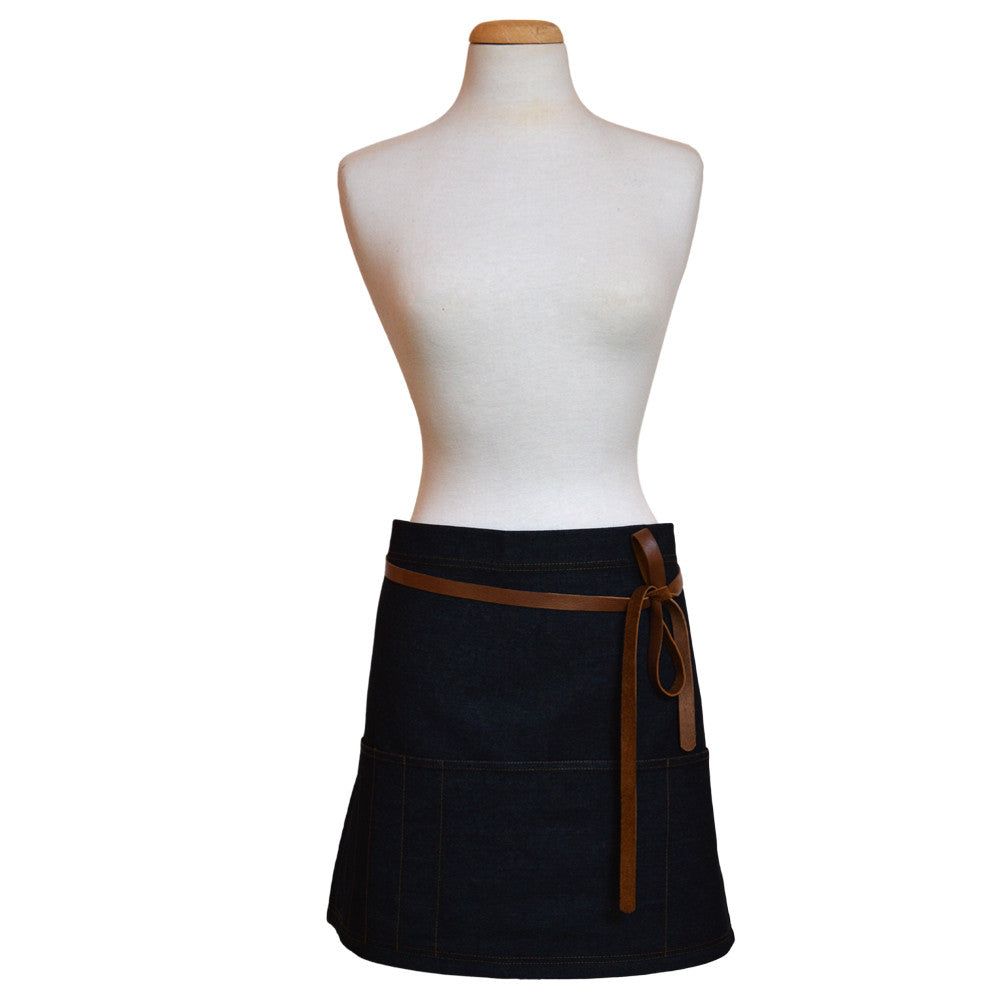 Denim Apron Short