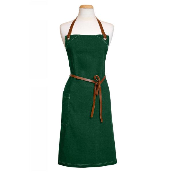 Apron Forest Green