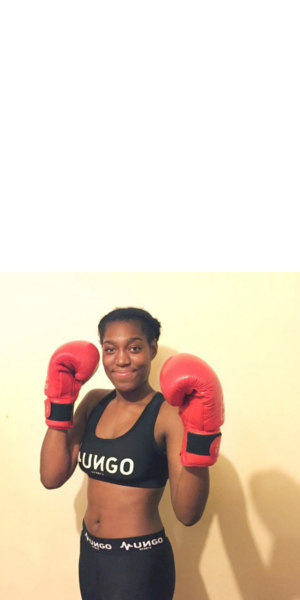 Nyomi's Pink Collar Boxing Event