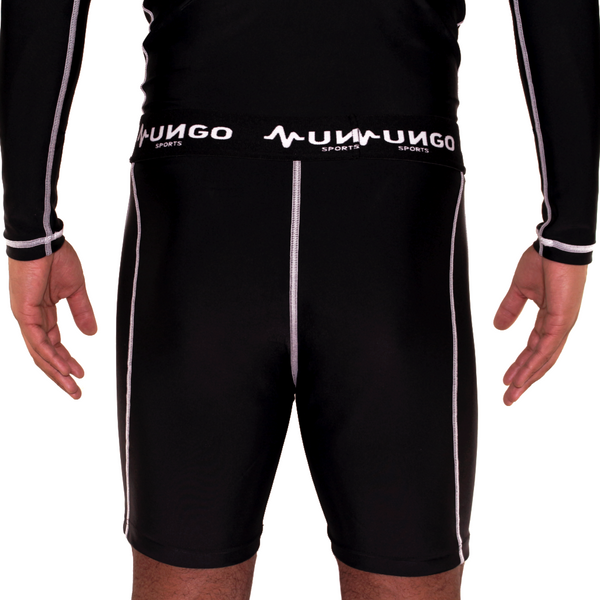 Mungo Elevation Black Compression Shorts