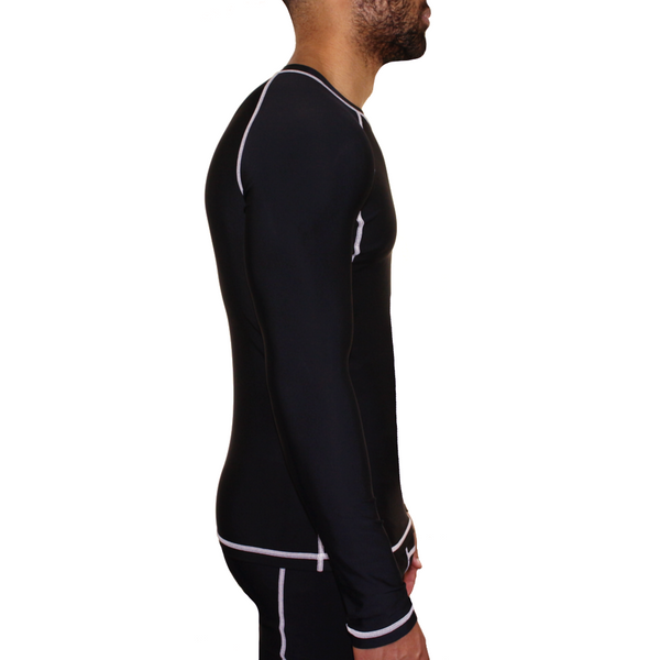Mungo Elevation Black Compression Long Sleeve