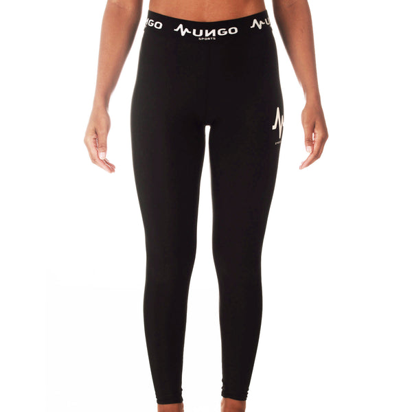 Mungo Black Active Leggings
