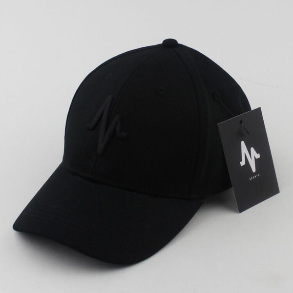Mungo Black on Black Baseball Cap
